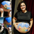 Laura belly painting Torino | Dipinto sul pancione per il tuo baby shower